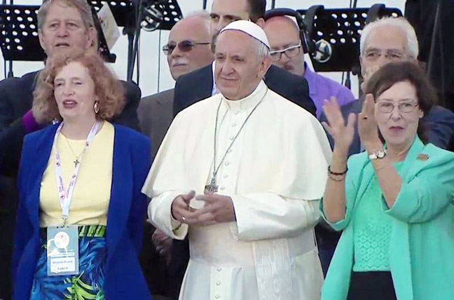 Michelle Moran Pope Francis Patti Gallager Mansfield